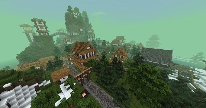 Yamamatsu Der Berg Ist Nicht Genug - Minecraft lagerhauser